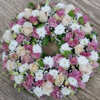 PINKY LARGE WREATH